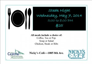 Steak Night Promo