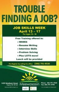 Job Week small poster