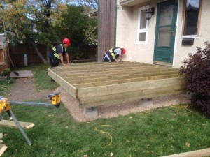 Constructing a quality deck